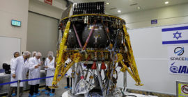 Israel to Launch Historic Private Mission to the Moon
